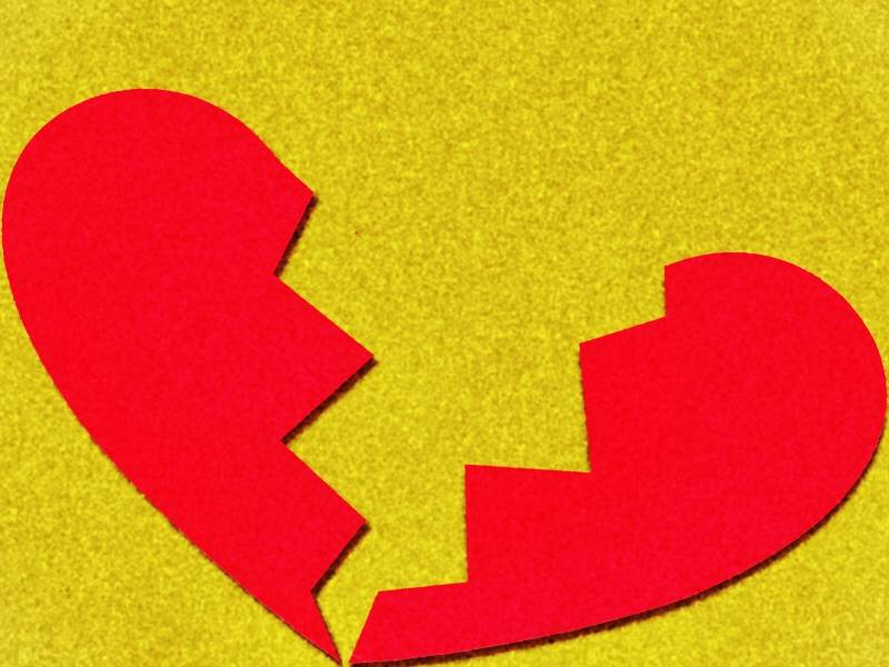 Desamor en San Valentín